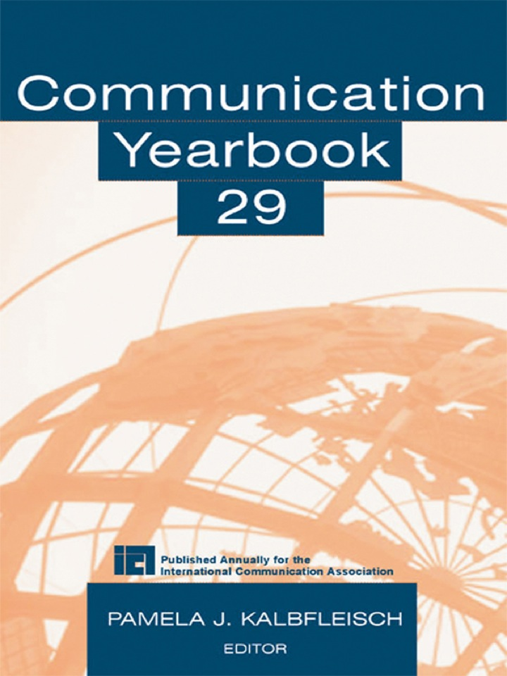 Communication Yearbook 29