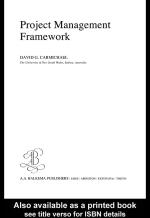 Project Management Frameworkÿÿ