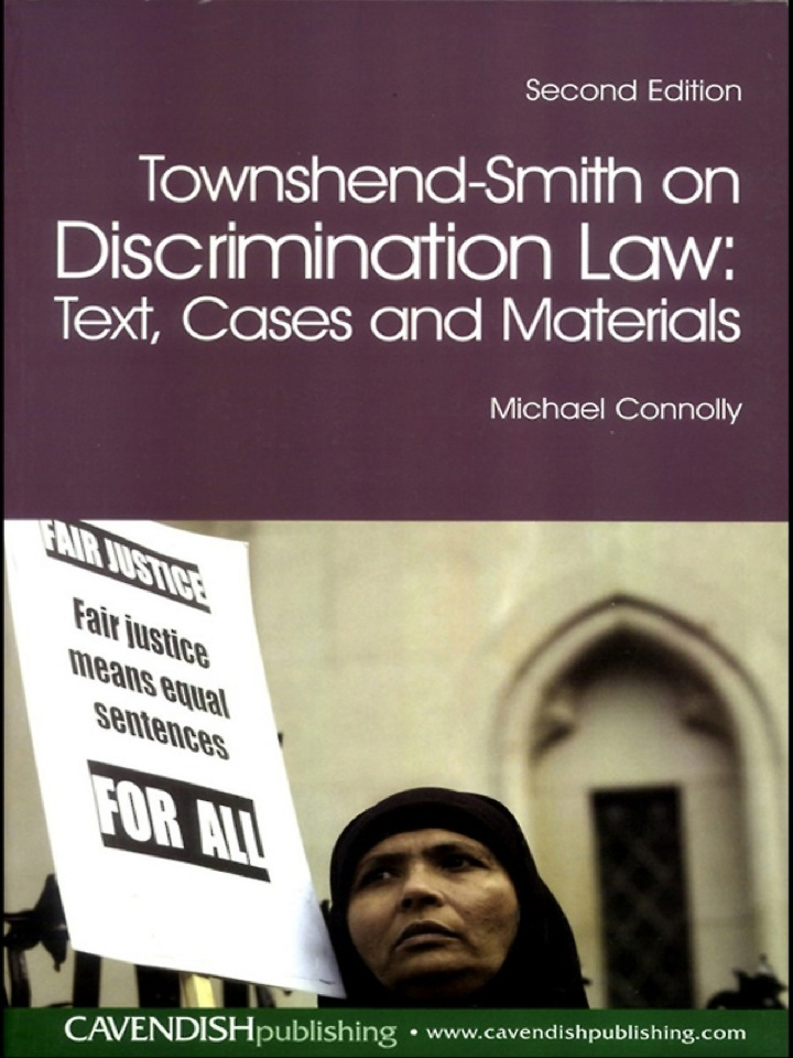 Townshend-Smith on Discrimination Law