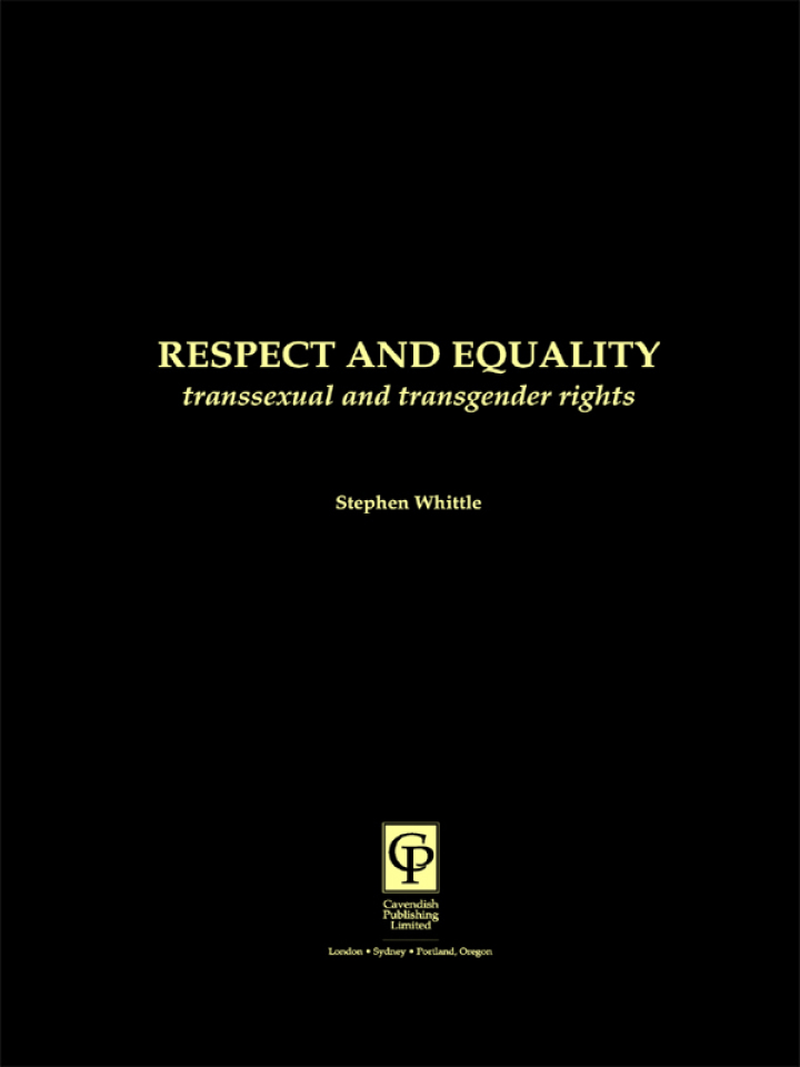 Respect and Equality