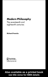 modern philosophy Spring 2010 history of modern philosophy syllabus course format classroom sessions will be both lecture and discussion with emphasis on informal lecture.