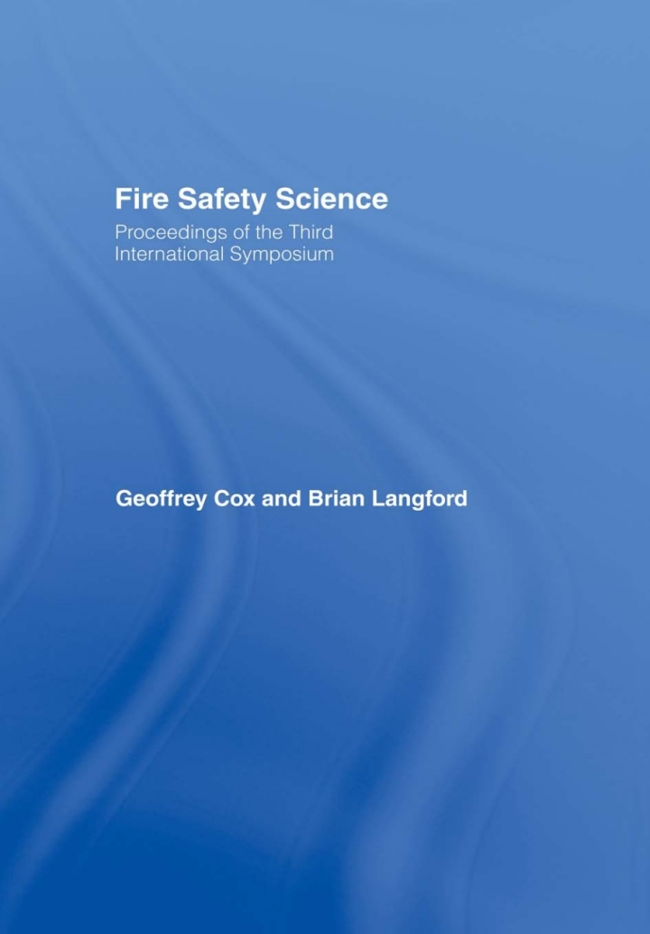 Fire Safety Science