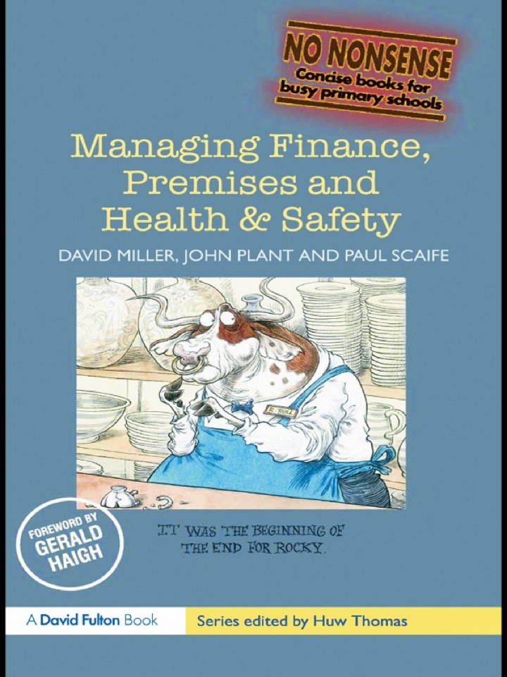 Managing Finance, Premises and Health & Safety