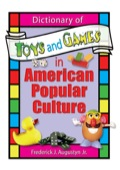 Dictionary of Toys and Games in American Popular Culture 9781135418533R90