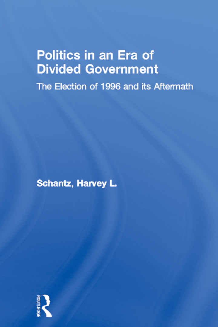 Politics in an Era of Divided Government