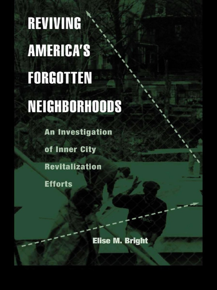Reviving America's Forgotten Neighborhoods