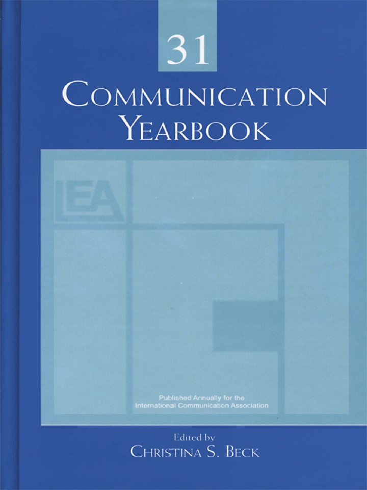 Communication Yearbook 31