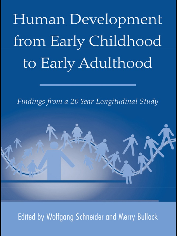 Human Development from Early Childhood to Early Adulthood