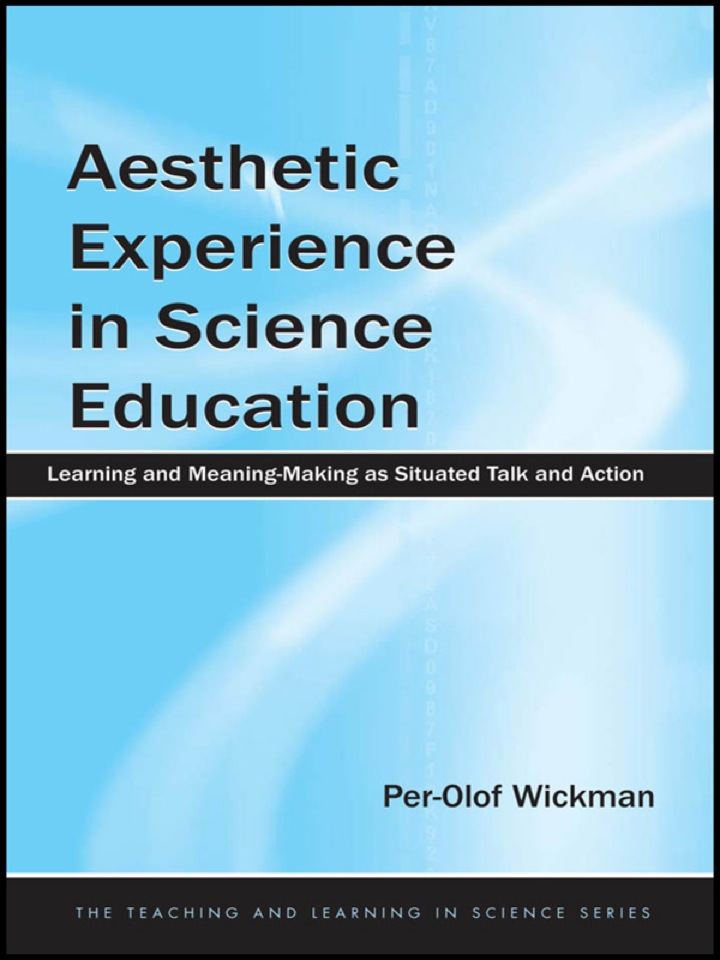 Aesthetic Experience in Science Education