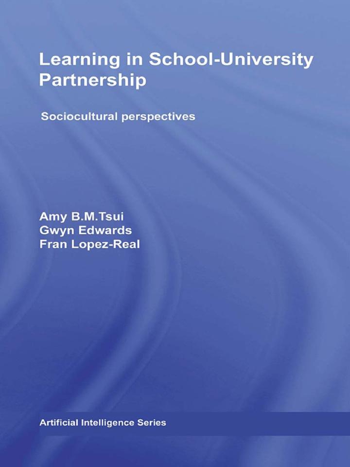 Learning in School-University Partnership