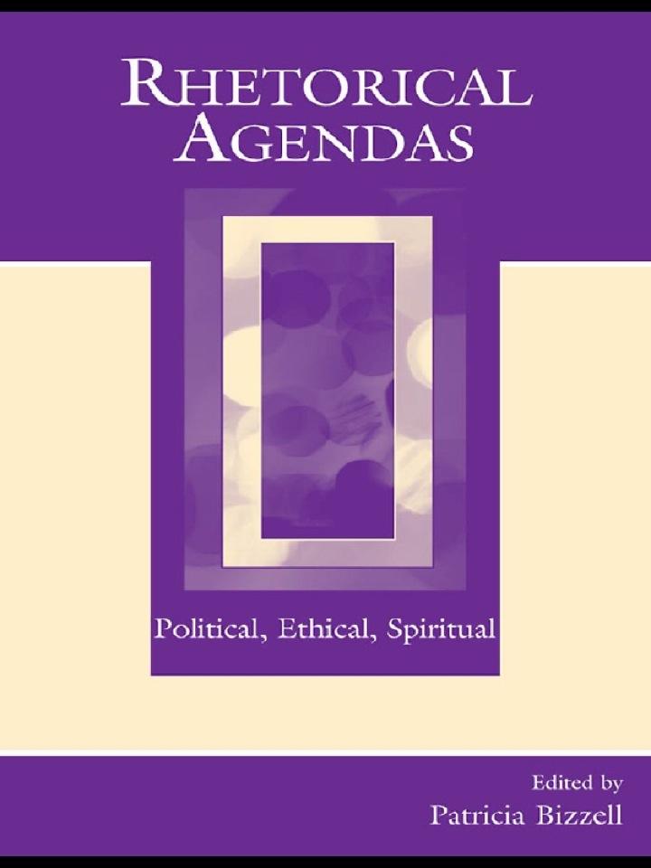 Rhetorical Agendas