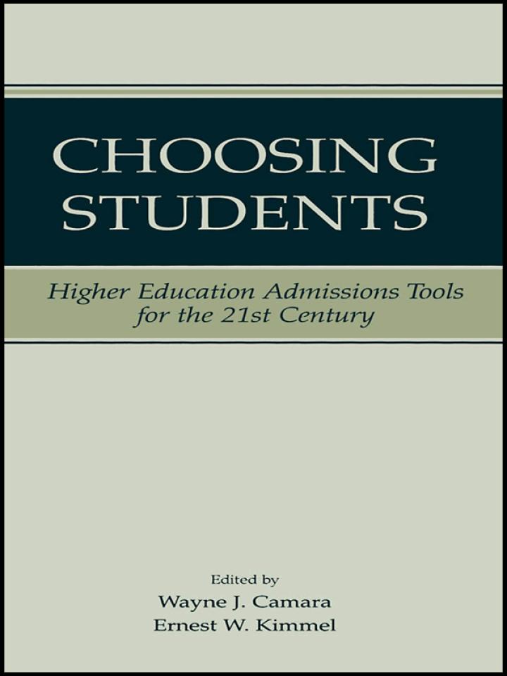 Choosing Students