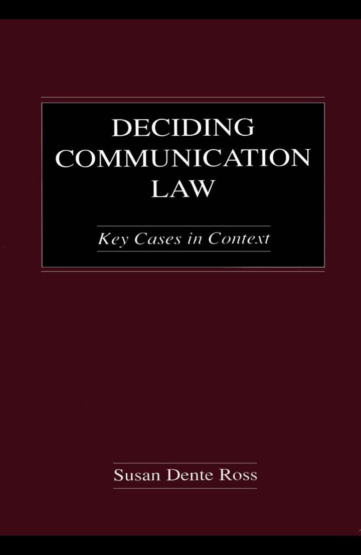 Deciding Communication Law