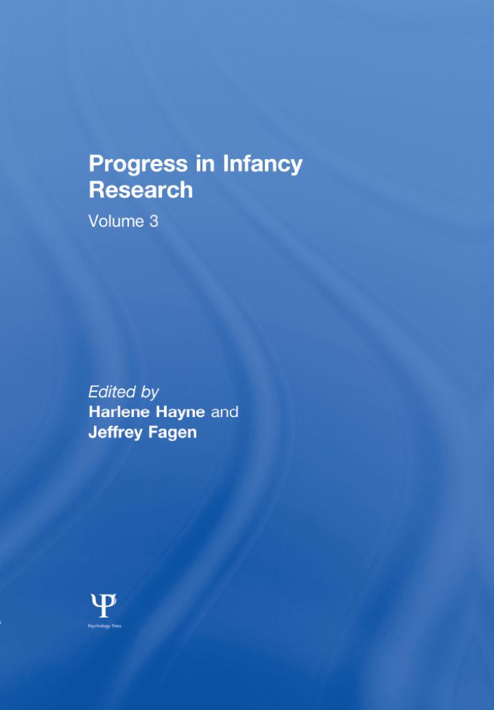Progress in infancy Research