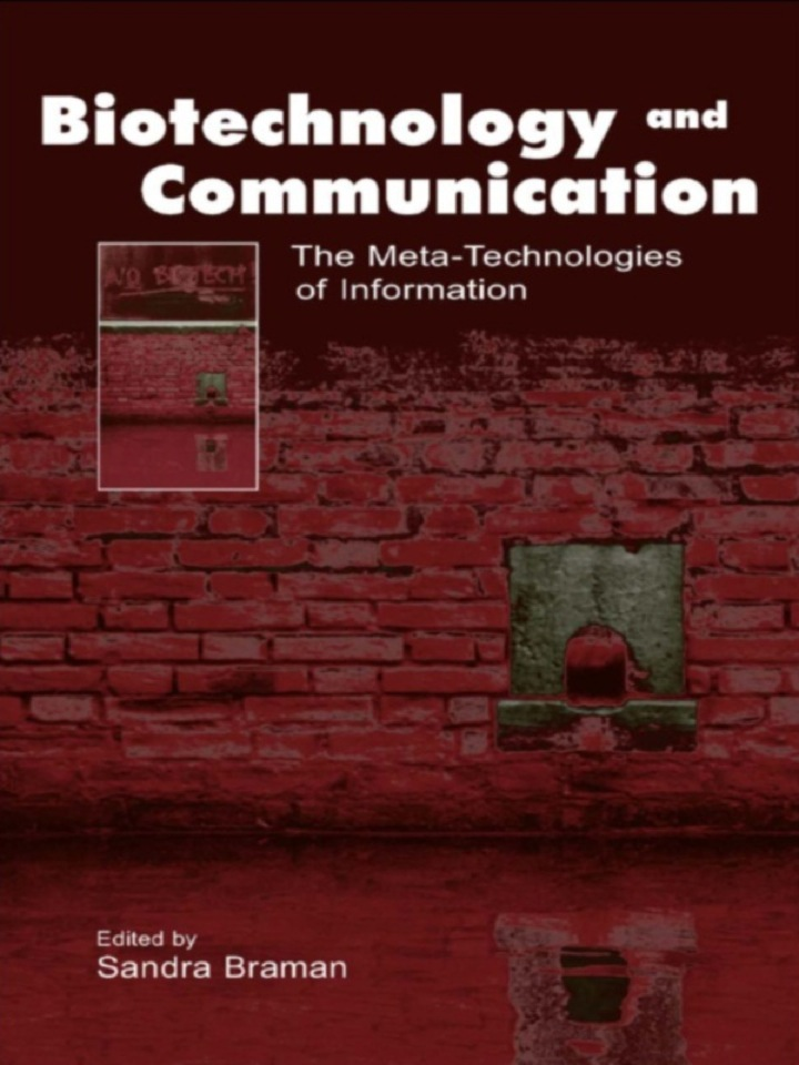Biotechnology and Communication