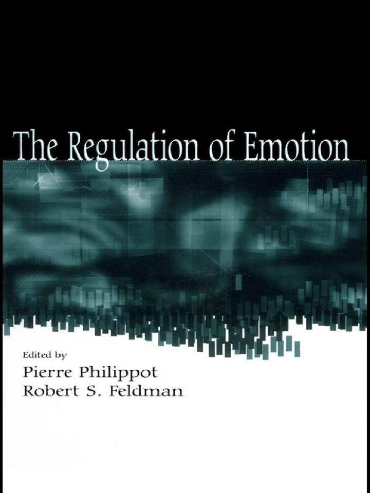 The Regulation of Emotion