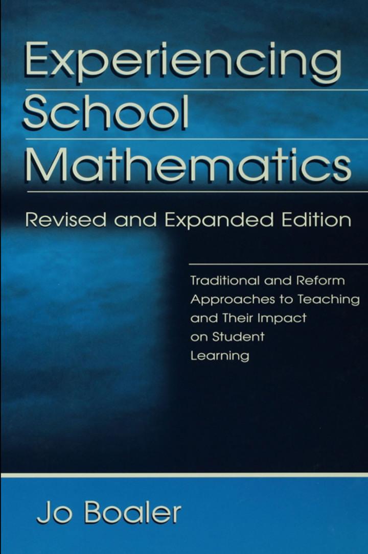 Experiencing School Mathematics