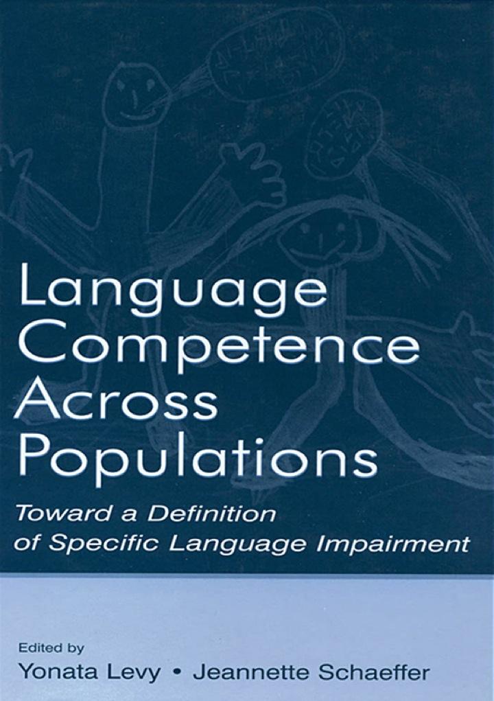 Language Competence Across Populations