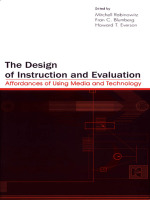 """""""The Design of Instruction and Evaluation"""" (9781135651503)"""