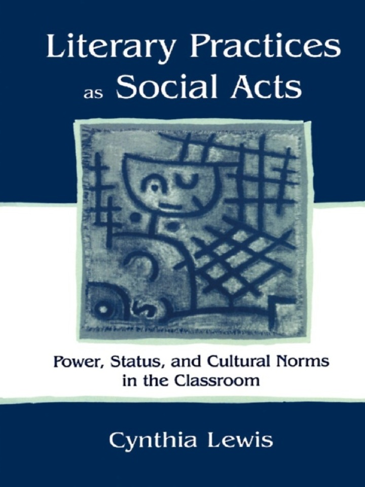 Literary Practices As Social Acts