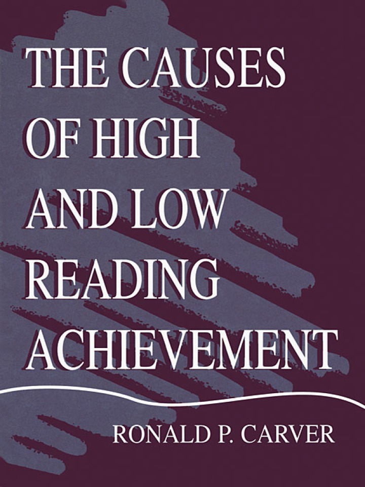 The Causes of High and Low Reading Achievement