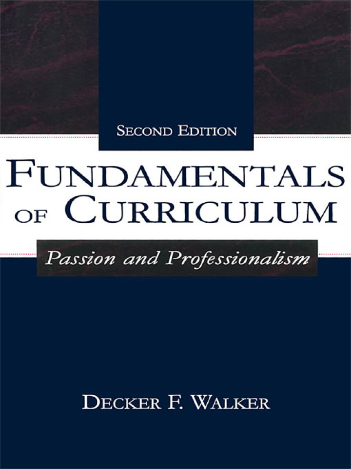 Fundamentals of Curriculum