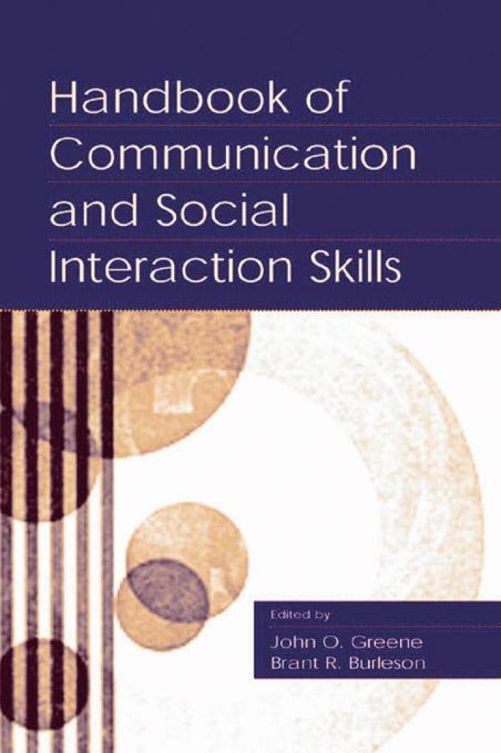 Handbook of Communication and Social Interaction Skills