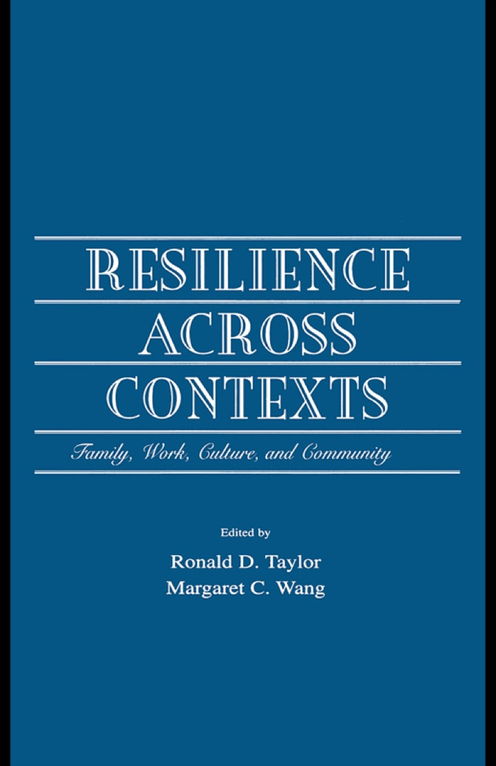 Resilience Across Contexts