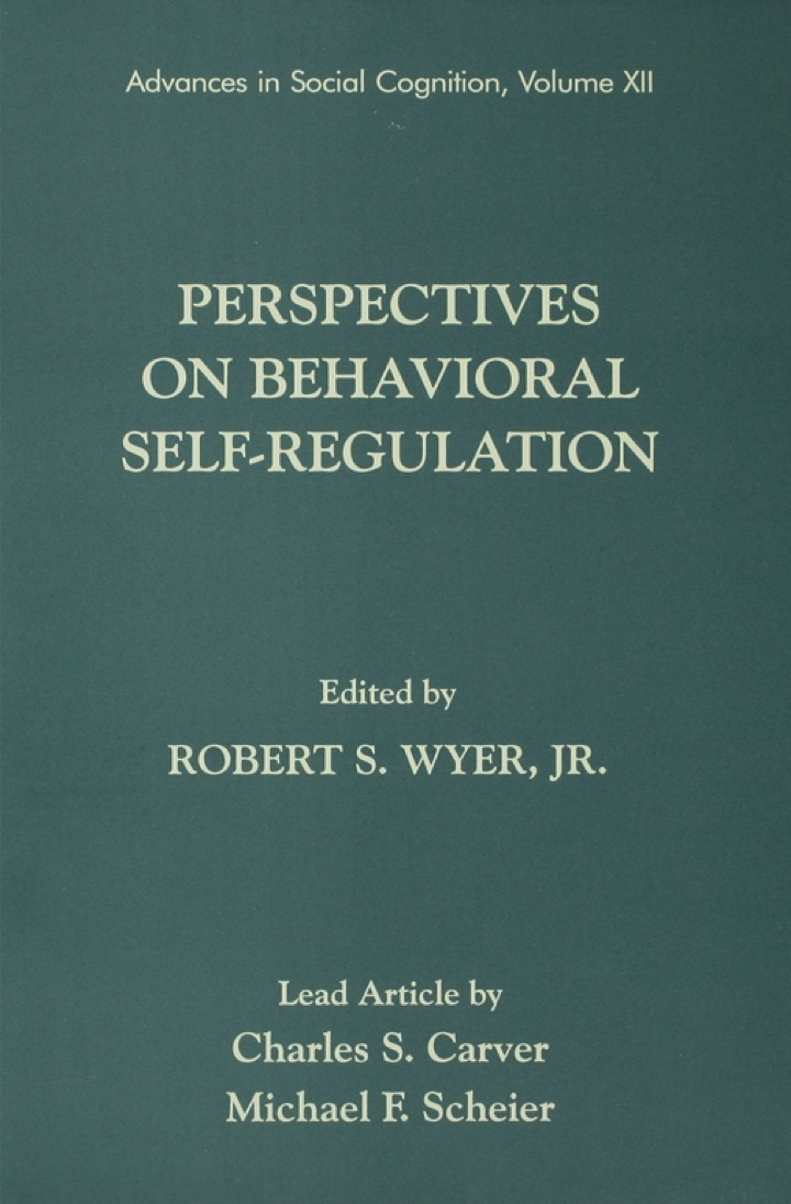 Perspectives on Behavioral Self-Regulation