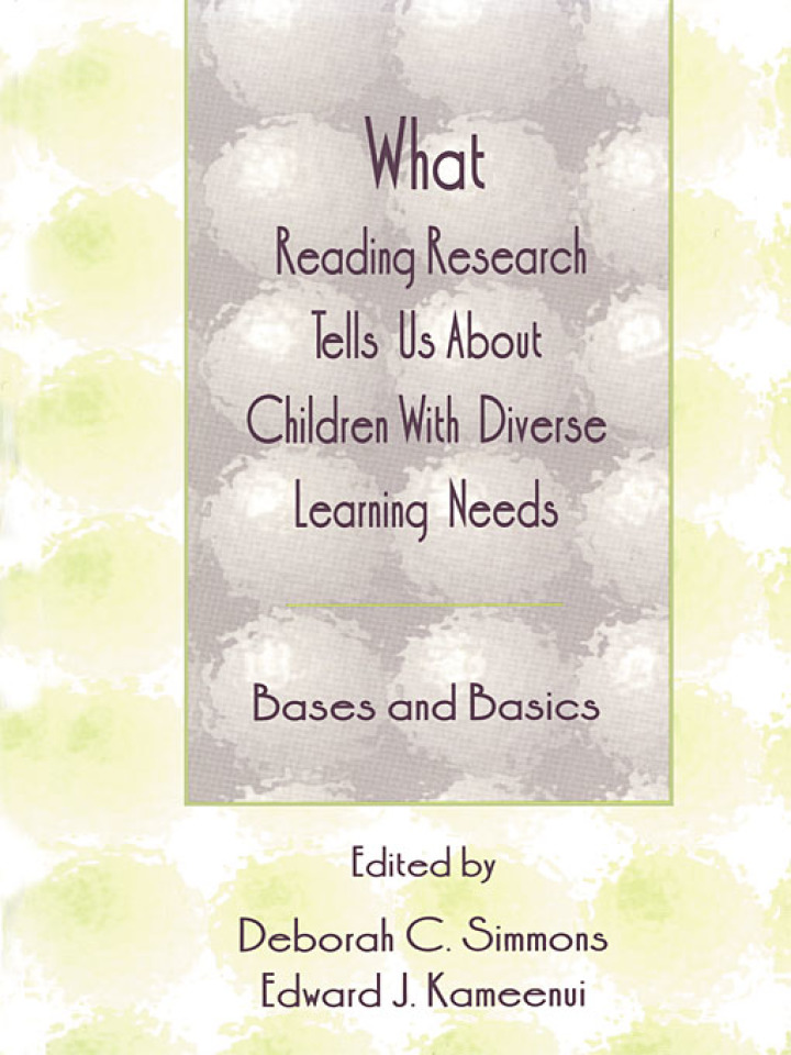 What Reading Research Tells Us About Children With Diverse Learning Needs