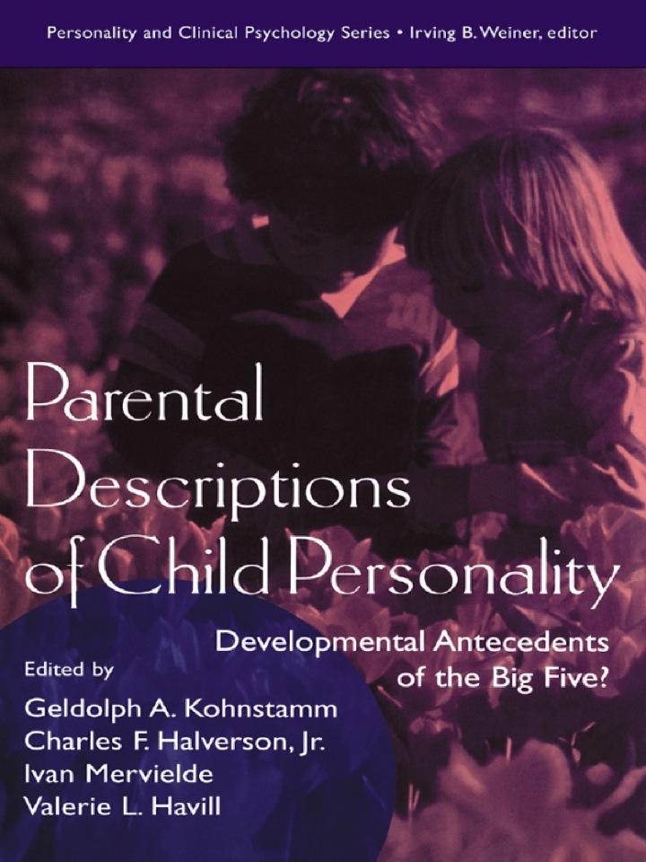 Parental Descriptions of Child Personality