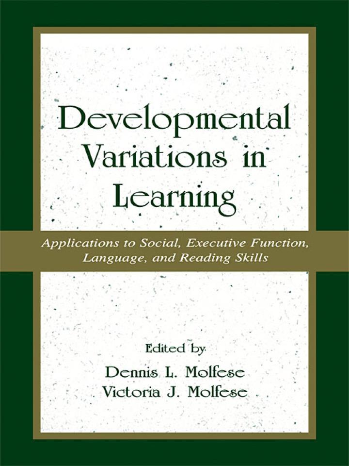 Developmental Variations in Learning