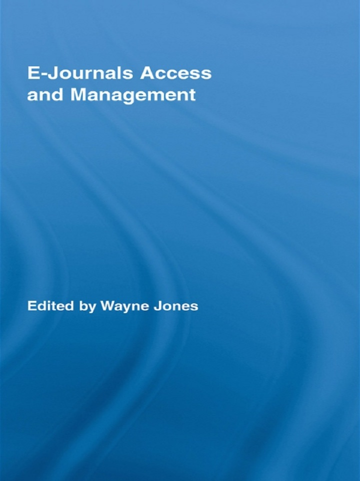 E-Journals Access and Management