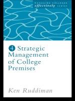"""""""Strategic Management of College Premises"""" (9781135700157)"""