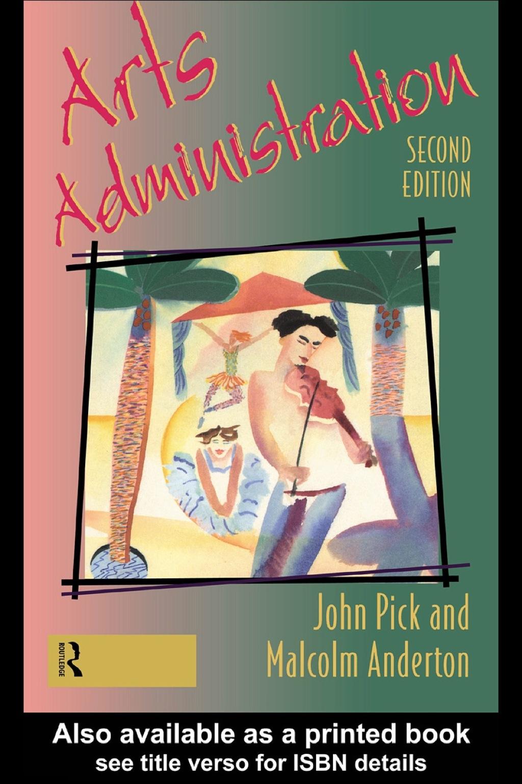 Arts Administration (eBook Rental)