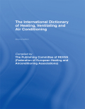 International Dictionary of Heating, Ventilating and Air Conditioning 9781135832872R90