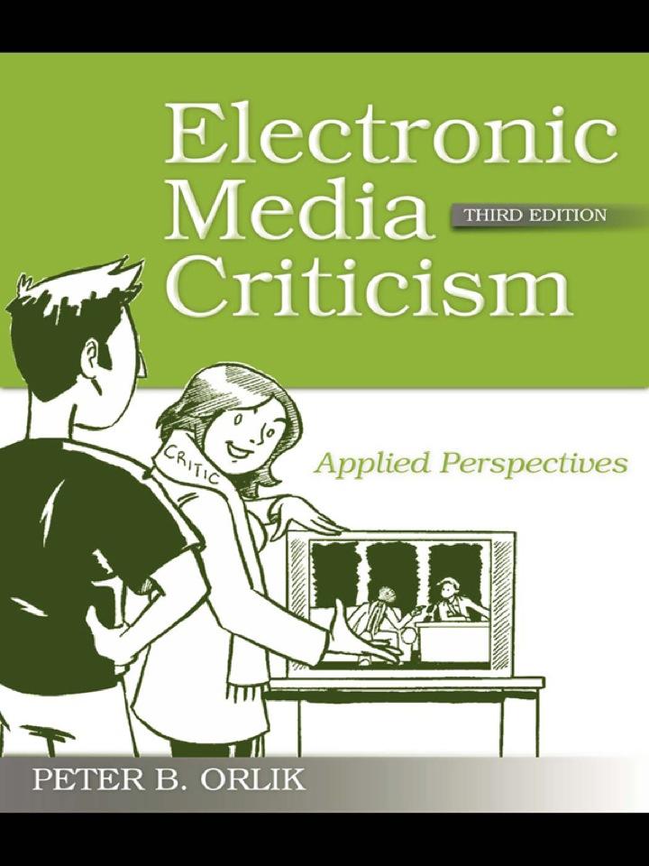 Electronic Media Criticism
