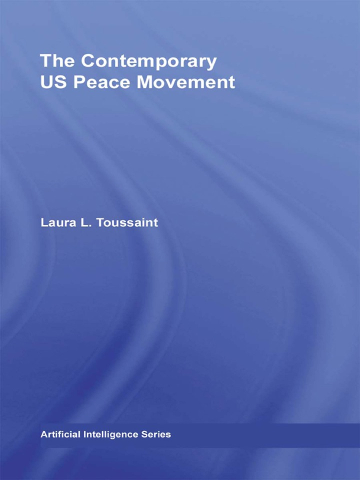 The Contemporary US Peace Movement