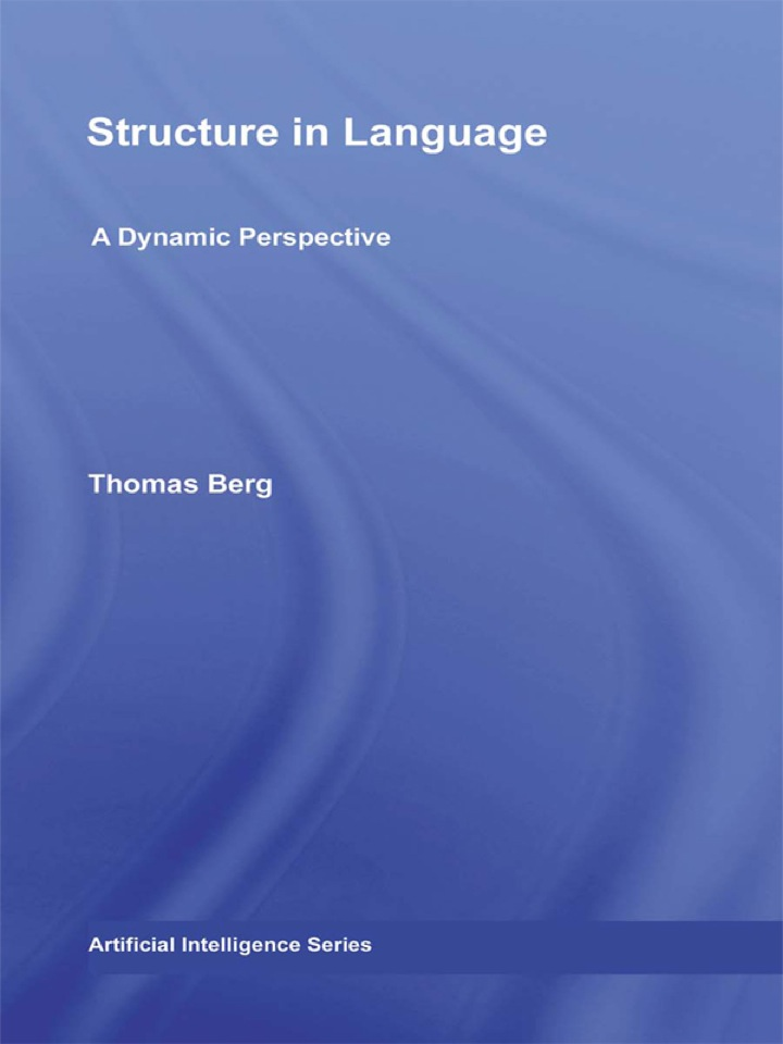 Structure in Language