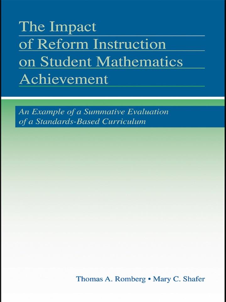The Impact of Reform Instruction on Student Mathematics Achievement