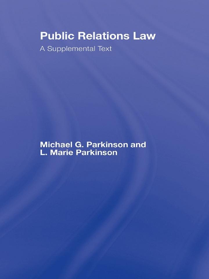 Public Relations Law