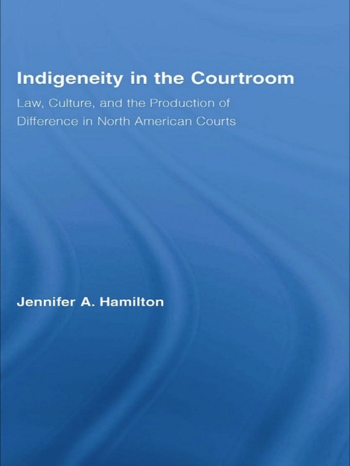 Indigeneity in the Courtroom