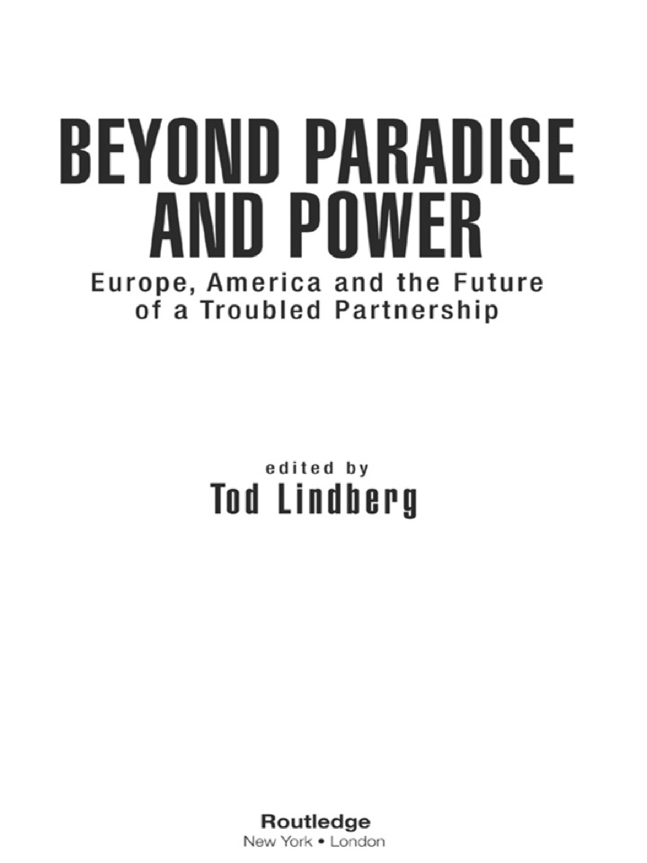 Beyond Paradise and Power