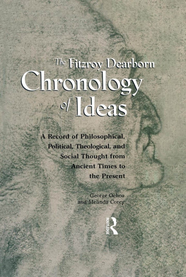 Fitzroy Dearborn Chronology of Ideas