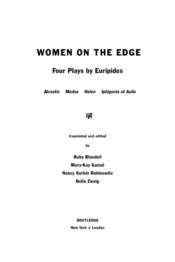 Women on the Edge
