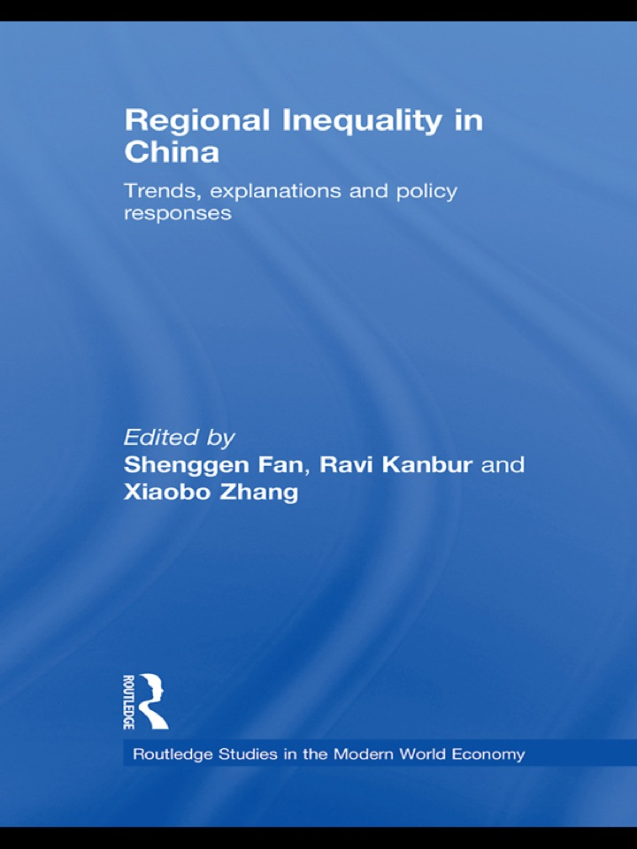 Regional Inequality in China