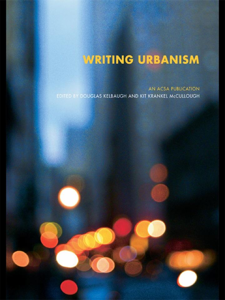 Writing Urbanism