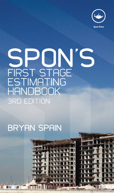 Spon's First Stage Estimating Handbook