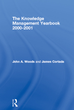 """The Knowledge Management Yearbook 2000-2001"" (9781136005459)"