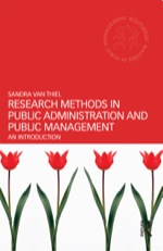"""""""Research Methods in Public Administration and Public Management"""" (9781136155345)"""